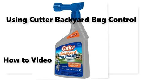 Cutter Backyard Bug Review by Cutter Backyard Bug Spray
