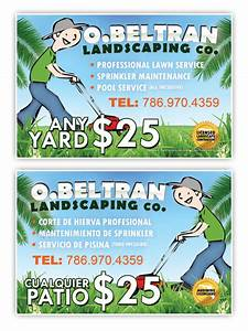huge landscape idea free landscaping designs examples of With landscaping flyers templates