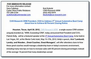 the 4 fundamentals of writing a good press release With digital press release template