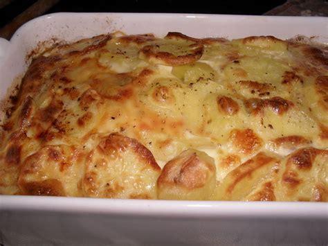 gratin de pomme de terre au comte et lardons
