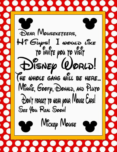 disney surprise letter 10 creative ways to reveal a disney vacation