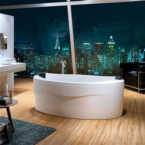 arena vasca freestanding   parete vasche glass
