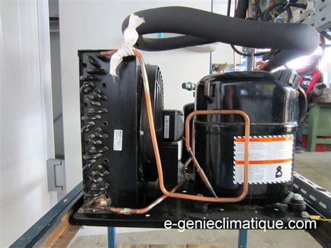 moteur chambre froide froid01 le circuit frigorifique de base dans une chambre