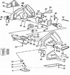 Black  U0026 Decker 7696 Type 1 Parts Diagram For Planer