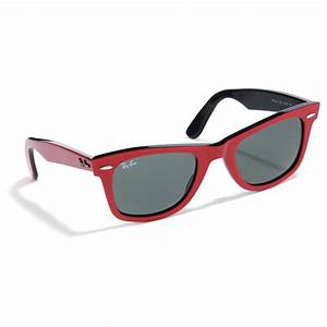 Red Ray Bans Wayfarer