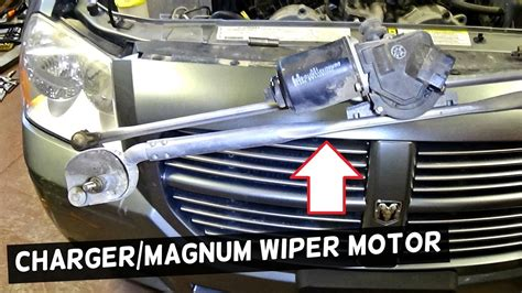 dodge charger windshield wiper motor replacement dodge