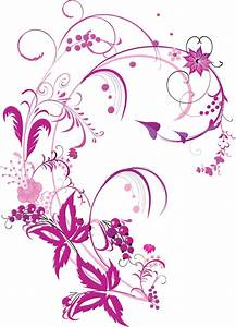 Free Vector Graphic Purple Swirls and Flowers Free Vector ...