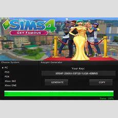 The Sims 4 Get Famous Key Generator Keygen For Full Game
