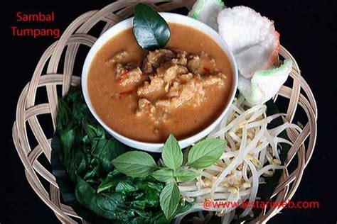 sambal tumpang tempe  spicy coconut sauce