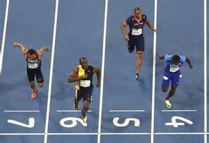 bolt sprints history gold japan times