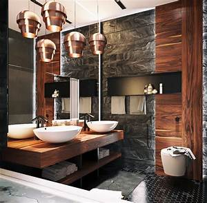 Ultra masculine bathroom interior design ideas for Manly bathrooms