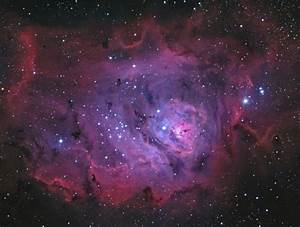 M8 Lagoon Nebula | Messier & NGC. Deep Space Objects ...