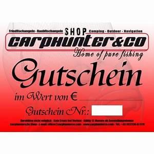 Gutschein T Online Shop : gutschein 100 carphunter co shop der tackle store ~ A.2002-acura-tl-radio.info Haus und Dekorationen