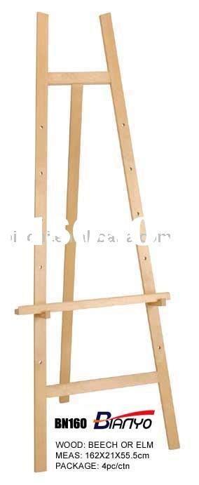 wood easel plans   build diy woodworking blueprints
