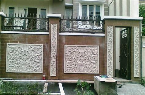 Galeri gambar buat pagar tembok minimalis : 33+ contoh gambar dan model pagar tembok rumah minimalis cantik & unik | Desain eksterior, Minimalis