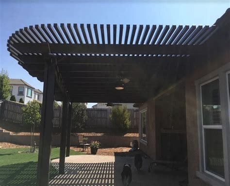 mount attached eave patio cover roseville ca