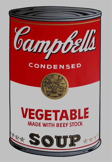 Cbell Tomato Soup Andy Warhol by Cbell S Soup I Vegetable Georgetown Frame Shoppe