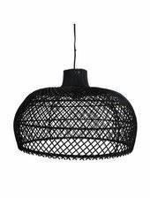 Suspension Rotin Noir : lampe suspension en osier 80cm hk living par hk living petite lily interiors ~ Teatrodelosmanantiales.com Idées de Décoration