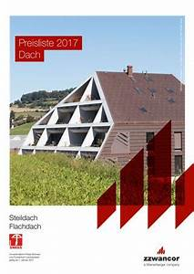 Viebrockhaus Preisliste 2017 Pdf : preisliste dach 2017 steildach flachdach pdf by wienerberger ag issuu ~ Frokenaadalensverden.com Haus und Dekorationen