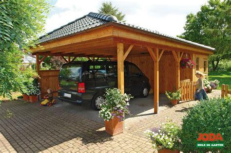 Joda Carports  Haus Planen