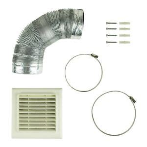Cooker Vent Kit by Universal 120mm 125mm X 3m Kitchen Cooker Vent