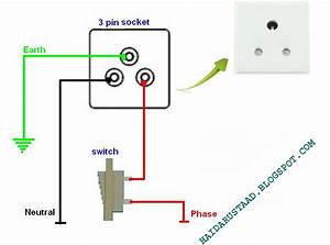 How To Control 3 Pin Socket By One Way Switch English