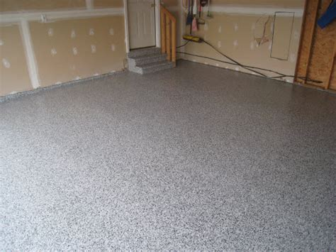garage floor paint types concrete floor improvement paint stain or epoxy