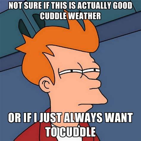 Cuddle Meme - cuddle weather quotes quotesgram