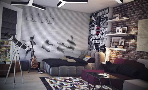 Rock And Roll Bedroom Ideas by Fotos De Quartos Com Decora 231 227 O De Rock