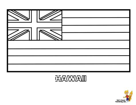Coloring Flag by Patriotic State Flag Coloring Pages Alabama Hawaii