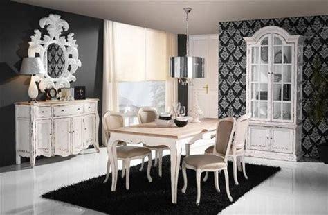 comedor estilo vintage frances blanco artenara decoracion