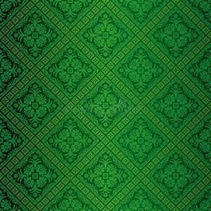 Papier Peint Fleuri Vintage : papier peint fleuri vert illustration de vecteur illustration du conception 7889830 ~ Melissatoandfro.com Idées de Décoration