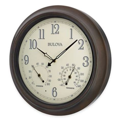 buy lighted wall clocks from bed bath beyond
