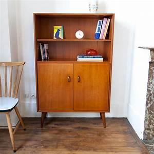 Meuble Scandinave Vintage : biblioth que meuble de rangement scandinave vintage monsieur joseph ~ Teatrodelosmanantiales.com Idées de Décoration