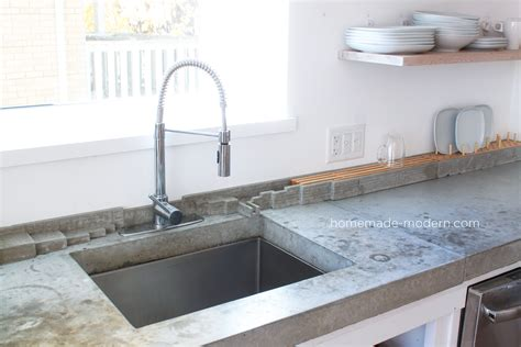 concrete kitchen tiles modern ep120 diy concrete backsplash 2433