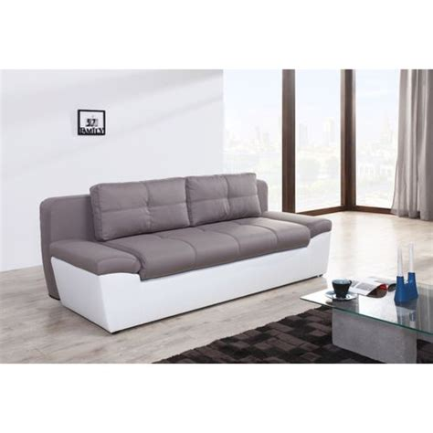 canapé couchage express relaxima freestyle canape convertible 3 places avec