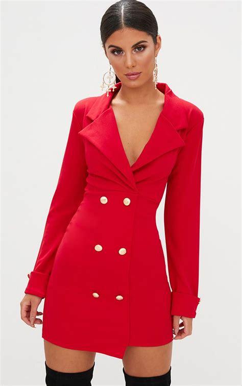 Blazer Dresses | Tuxedo Style Dresses | PrettyLittleThing