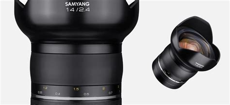 samyang for canon xp 14mm f 2 4 the premium samyang xp 85mm f 1 2 and 14mm f 2 4 lenses