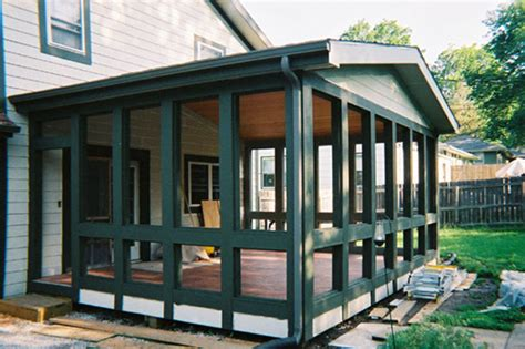 Enclosed Patio Designs Pics