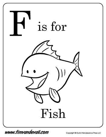 fish printable tims printables