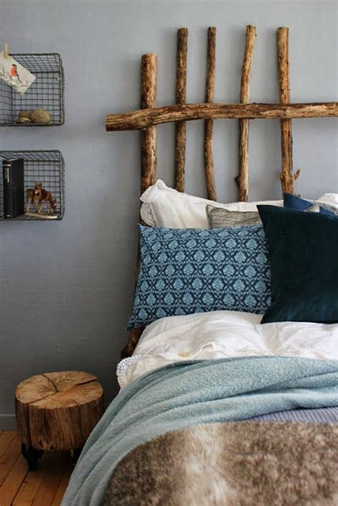 diy wooden stick headboard project home lifestyle