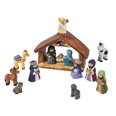 diy mini nativity set diy crafts crafts for kids craft