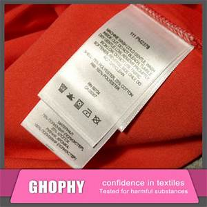 swimwear nylon satin washing care labelsfabric clothing With buy printed labels online