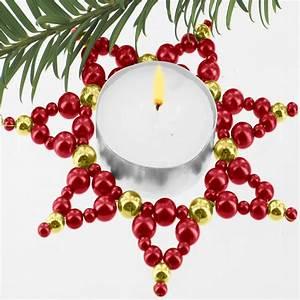 Sterne Selber Basteln Mit Perlen : 3 teelicht sterne im set zauberhafter perlen ~ Lizthompson.info Haus und Dekorationen