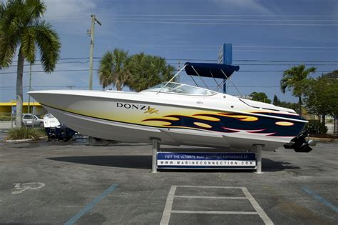 Donzi Boat Exhaust by Used 2004 Donzi 28 Zx Boat For Sale In West Palm Fl