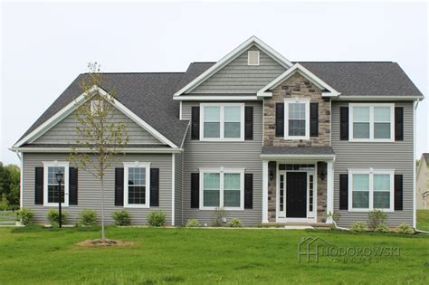 Here Is Our Augusta House Design With Our Most Popular Siding Color