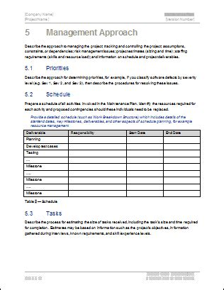 software development template pack  ms word templates