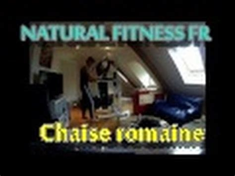 abdos chaise romaine home fitness montage de la chaise romaine dips