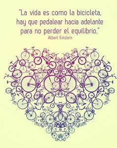 Albert Einstein: La vida es como la bicicleta