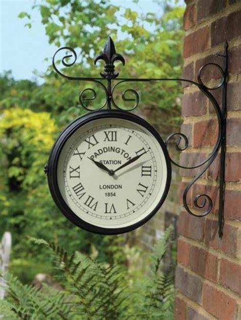 large outdoor garden paddington station wall clock